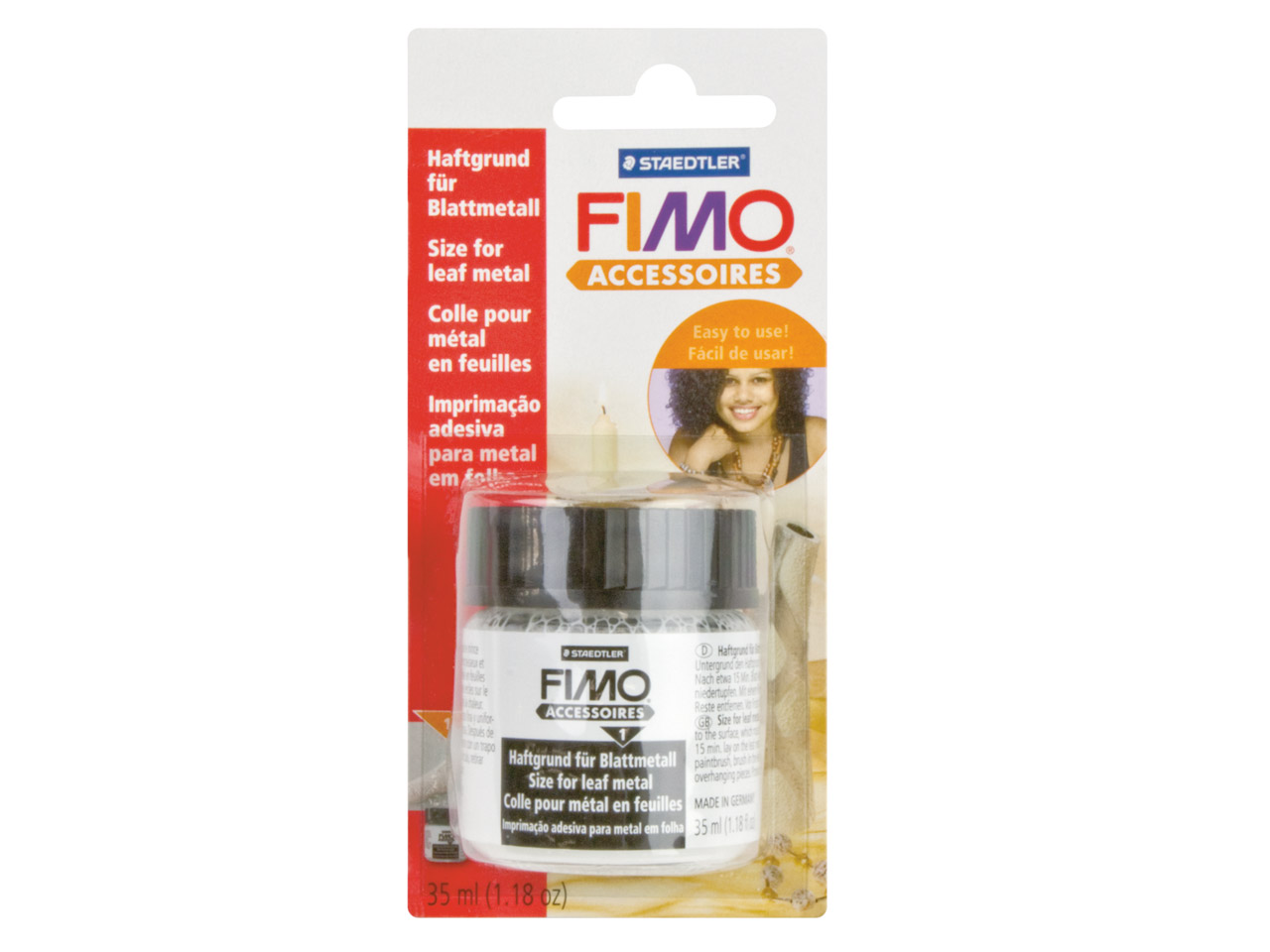 Fimo Size/glue For Leaf Metal 35ml