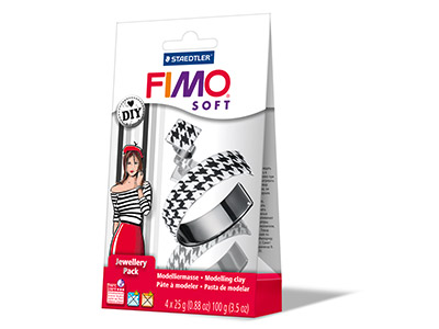 Fimo-Jewellery-Set-Black-And-White-Ba...