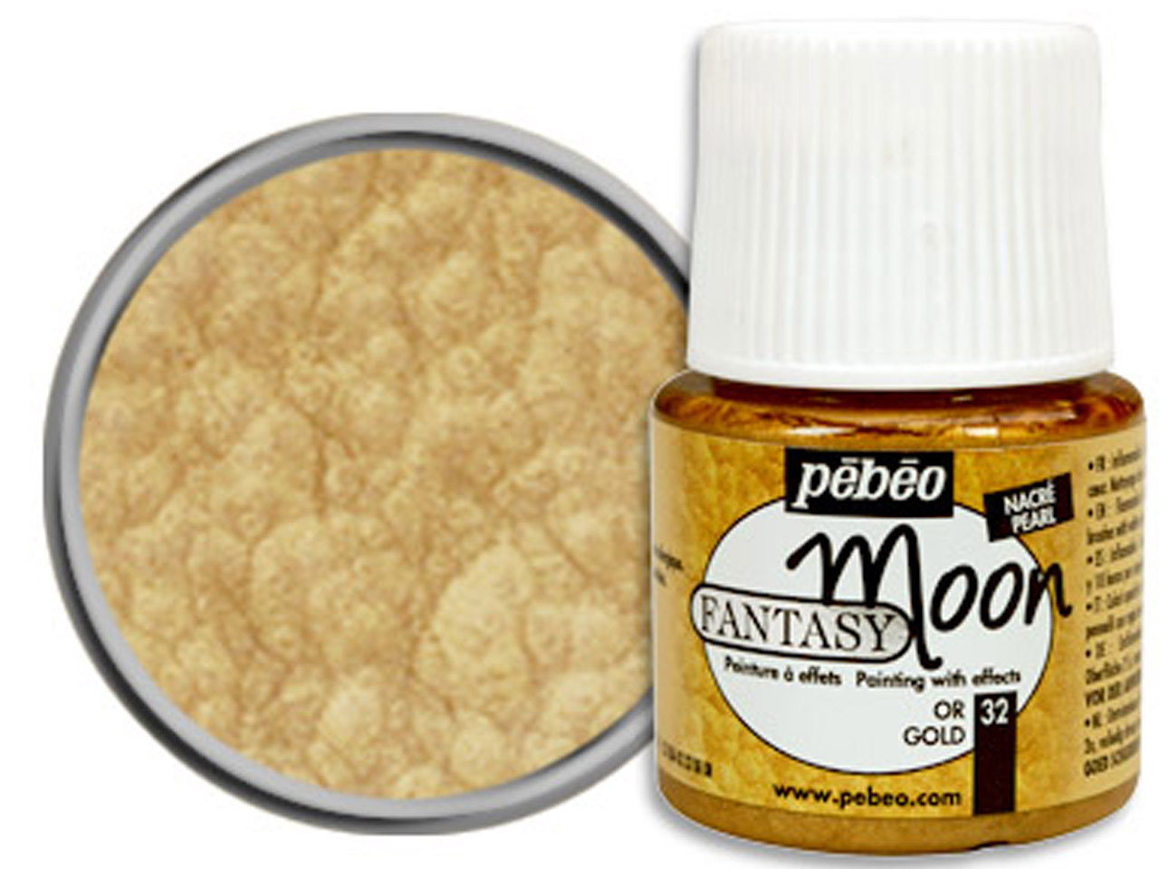 Pebeo Fantasy Moon, Gold, 45ml