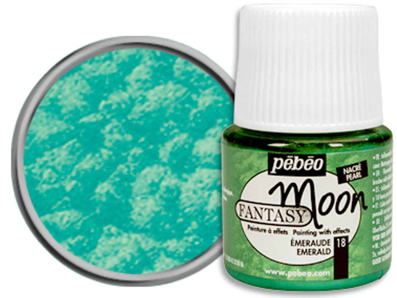 Pebeo Fantasy Moon, Emerald, 45ml  Un1263