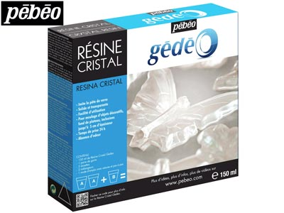 Gedeo Resin, Clear Crystal, 150ml  Un3082, Un3066