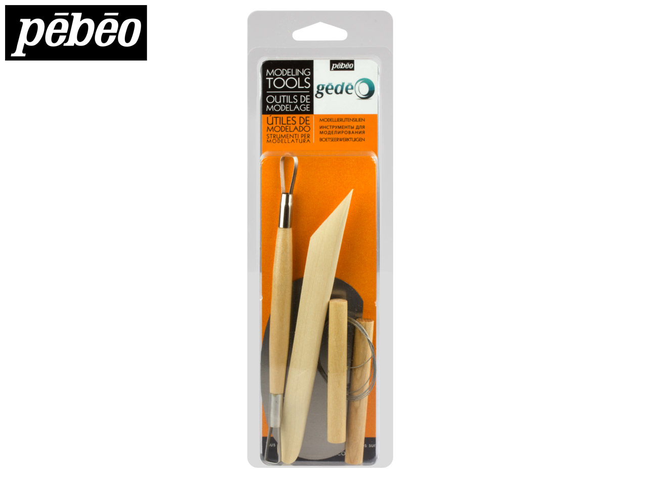 Gedeo 4 piece Modelling Tool Set