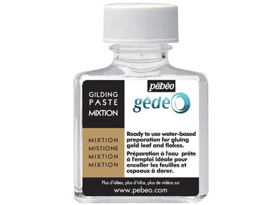 Gedeo Gilding Paste 75ml To Be   Used With Gold Leaves