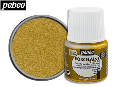 Pebeo Porcelaine Gold 45ml Un1263