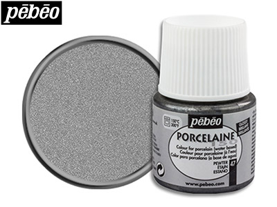 Pebeo Porcelaine Pewter 45ml Un1263