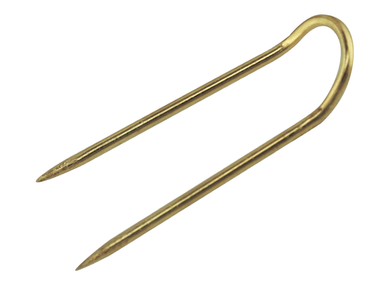Gilt Pad Pins 25mm Long            Pack of 100,