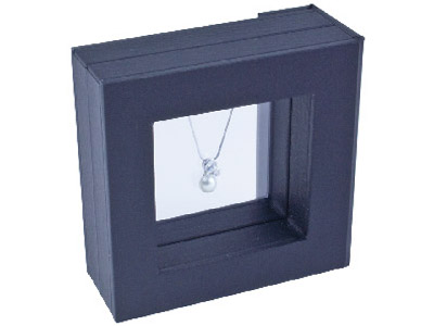 Black Small Window Display Box