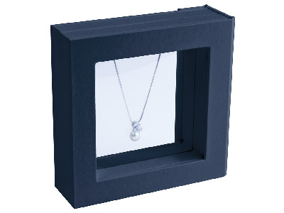 Black Medium Window Display Box