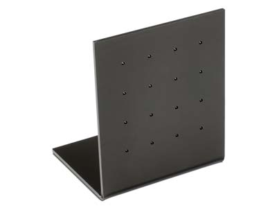Black Gloss Acrylic Earring Display Stand