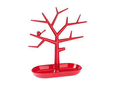 Koziol Small Red Lifestyle Tree    Display