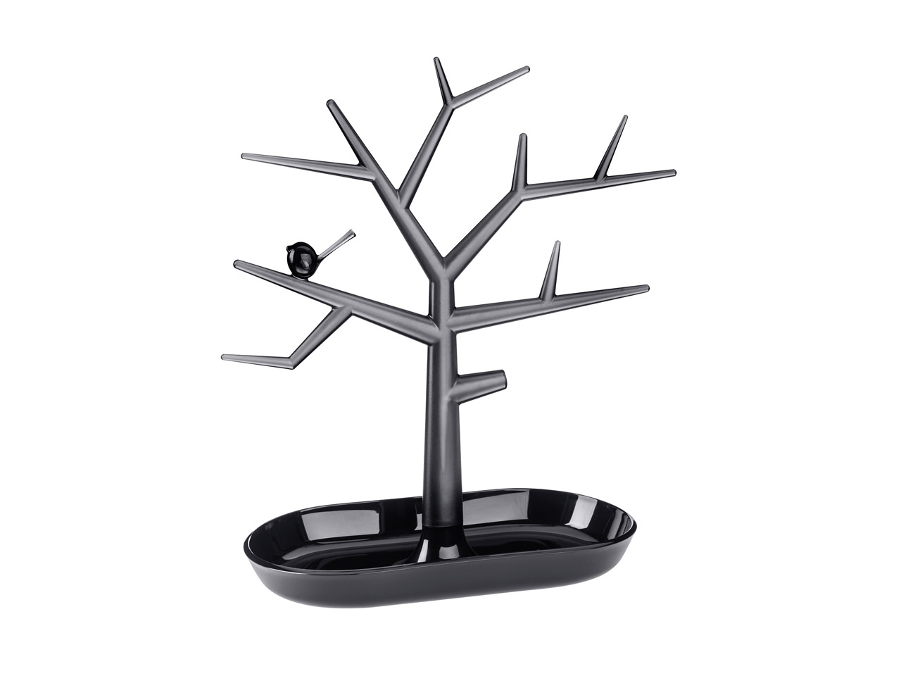 Koziol Small Black Lifestyle Tree  Display