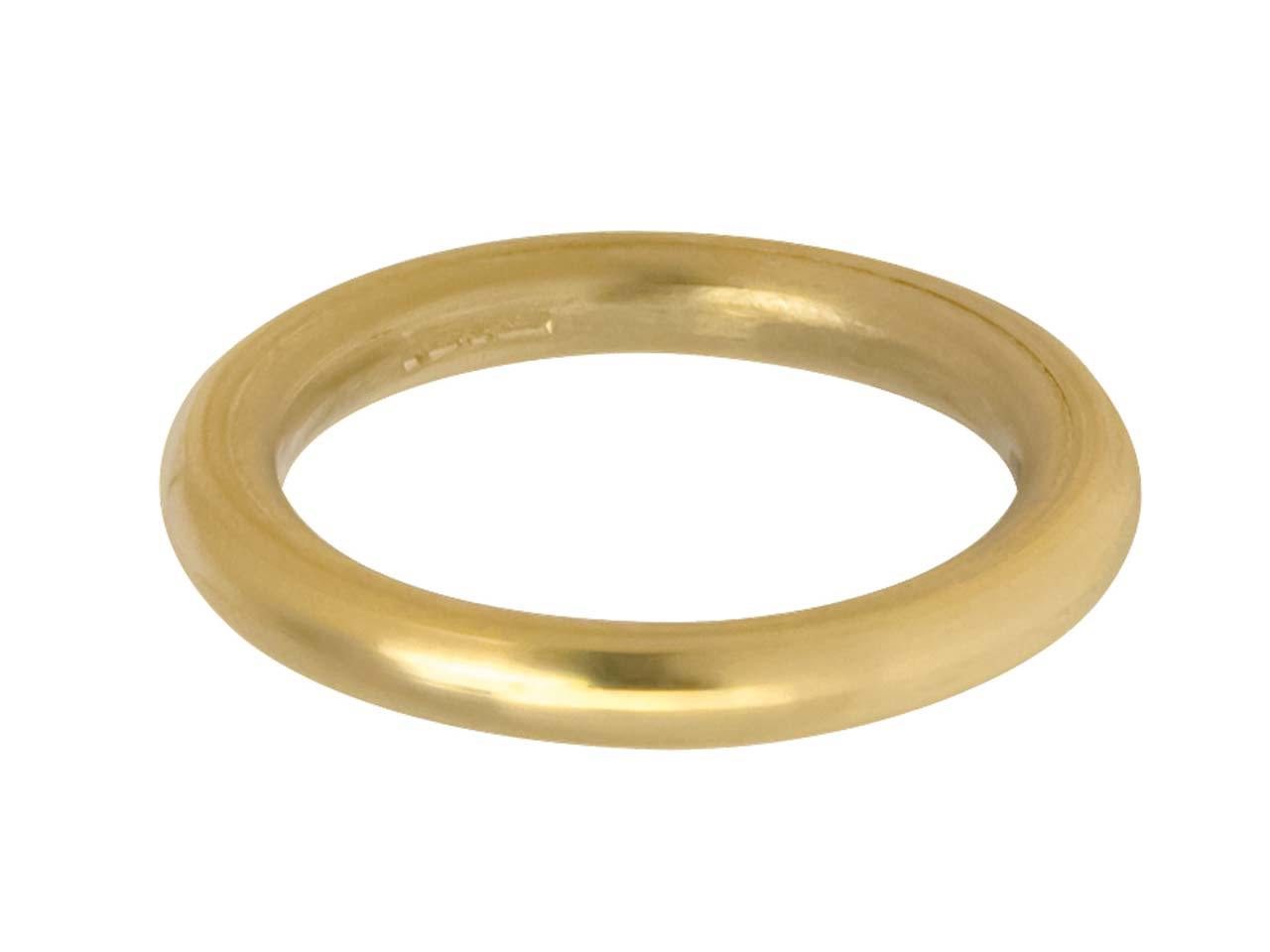 9ct Yellow Halo Wedding Ring 3.0mm M 4.9gms Heavy Weight Hallmarked   Wall Thickness 3.00mm