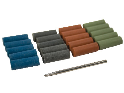 Eveflex Rubber Cylinder Set 4     Grades X 5 Each  Mandrel