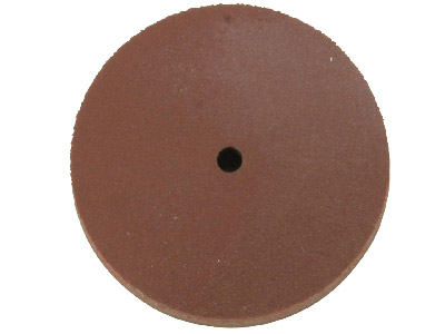 Eveflex Rubber Wheel, 701 Brown -  Fine, 23 X 3mm