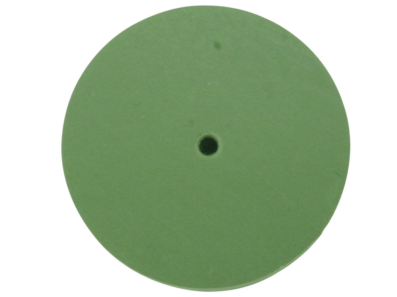 Eveflex Rubber Wheel, 801 Green -  Extra Fine, 23 X 3mm
