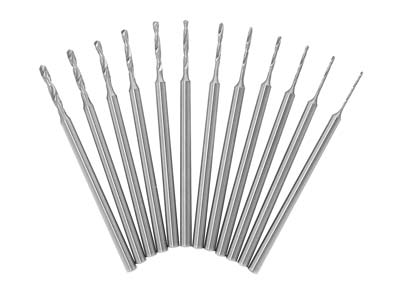 Busch Shank Drills Set Of 12