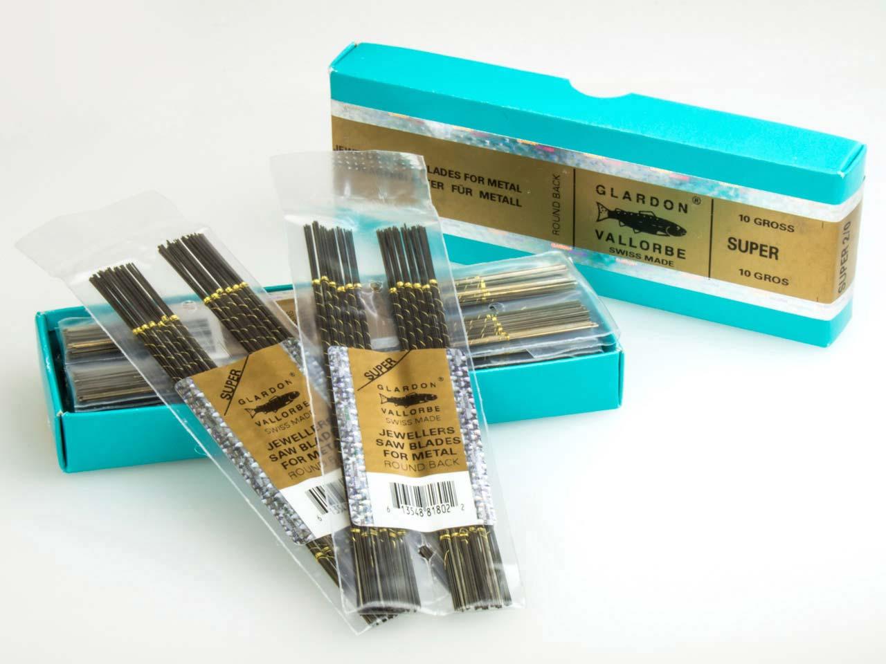 Rectificador-Premium-Swiss-Piercing-Hojas-De-Sierra-joyero-de-hojas-de-sierra-Paquete-de-12 miniatura 7