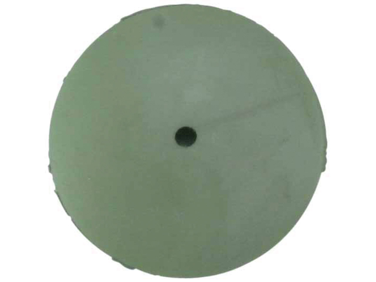 Knife Edge Rubber Wheel, Green,    Extra Fine