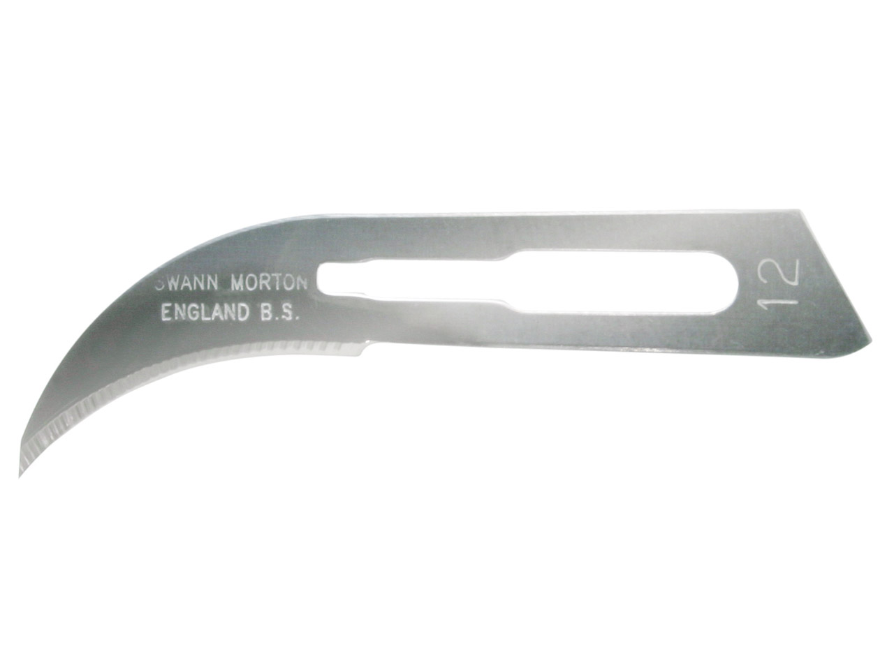 Scalpel Blades No.12 Curved        Pack of 5