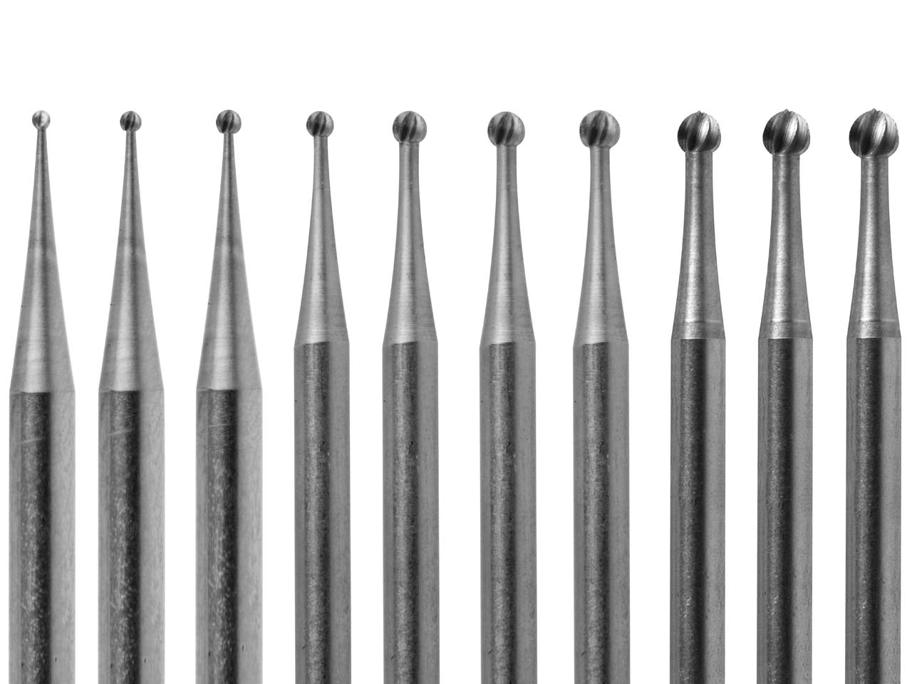 Choose from Small Or Large Diameter Sets Busch Round Burr No 1 Sets