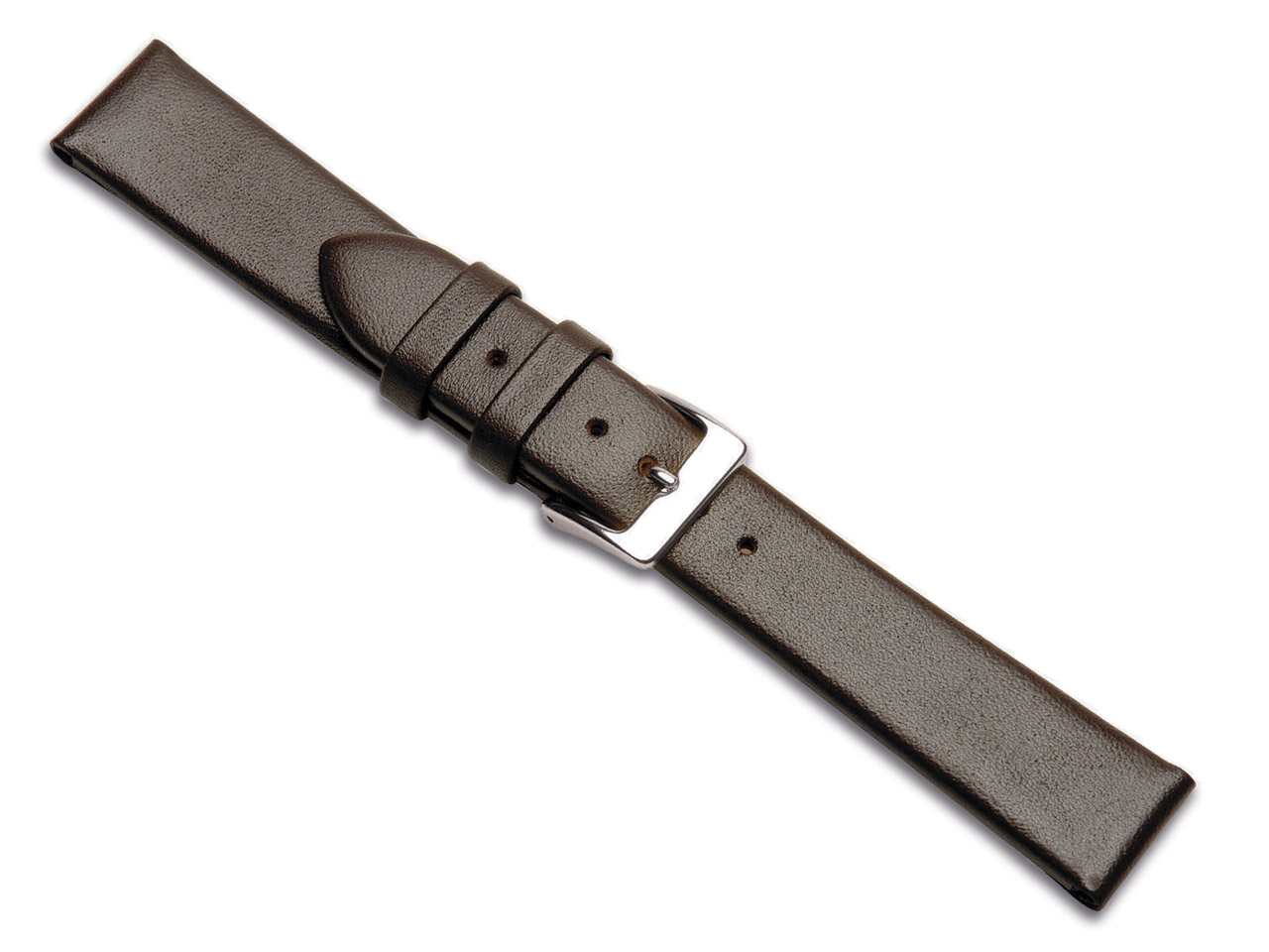 Brown Calf Watch Strap 12mm Genuine Leather