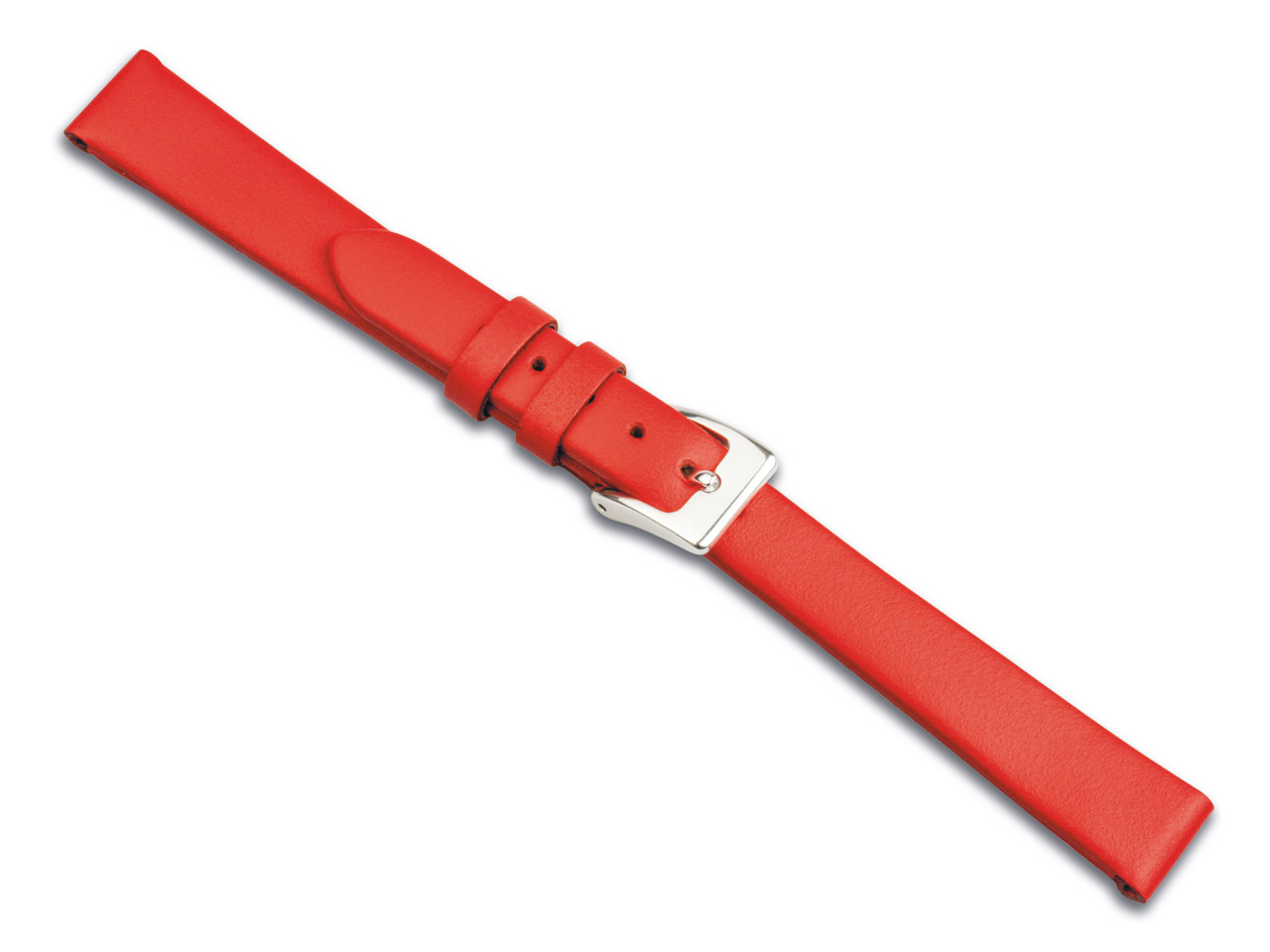 Red Calf Watch Strap 16mm Genuine  Leather