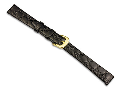 Black-Croc-Grain-Watch-Strap-14mm--Ge...