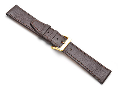 Brown Buffalo Watch Strap 18mm     Genuine Leather