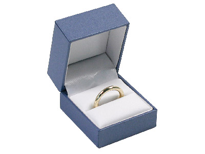 Blue Sheen Ring Box