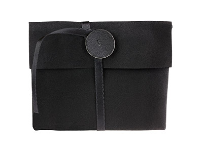 Black Jewellery Pouch Small