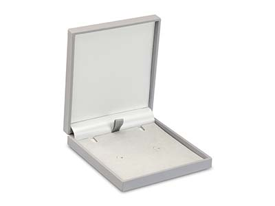 Grey Soft Touch Postal Pendant Box