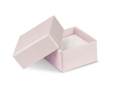 Pastel Pink Card Earring Small    Universal Box
