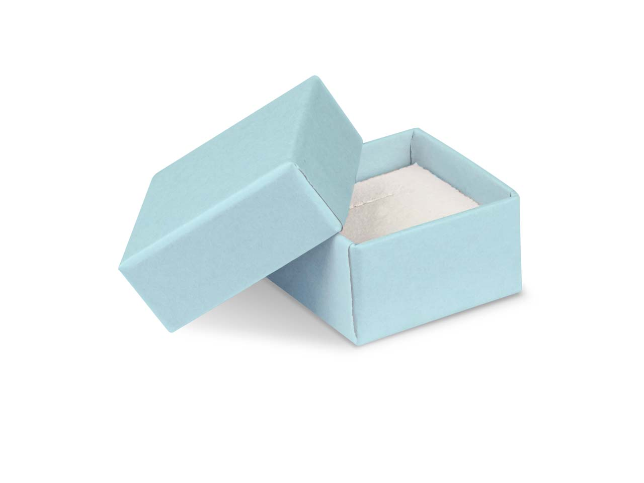 Pastel Blue Card Earring/ Small    Universal Box