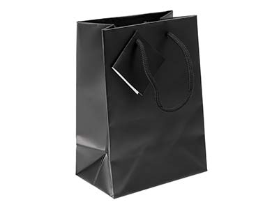 Black Matt Gift Bag Small