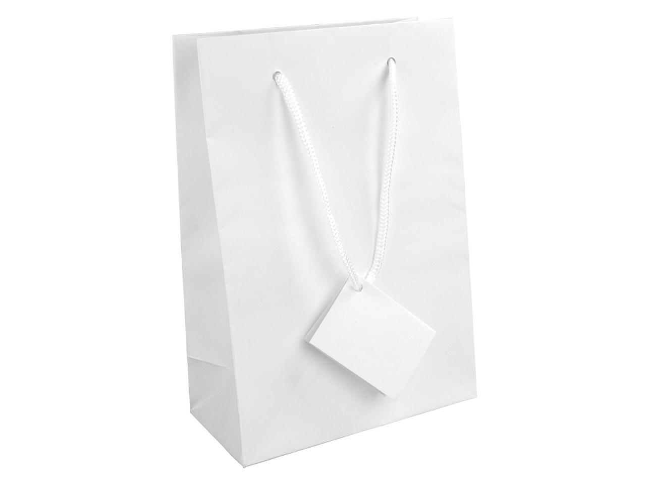 White Matt Gift Bag Medium
