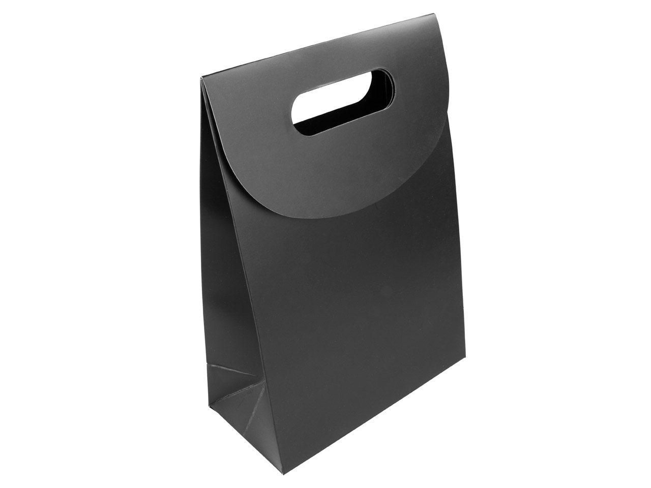 Black Matt Handle Gift Bag Medium