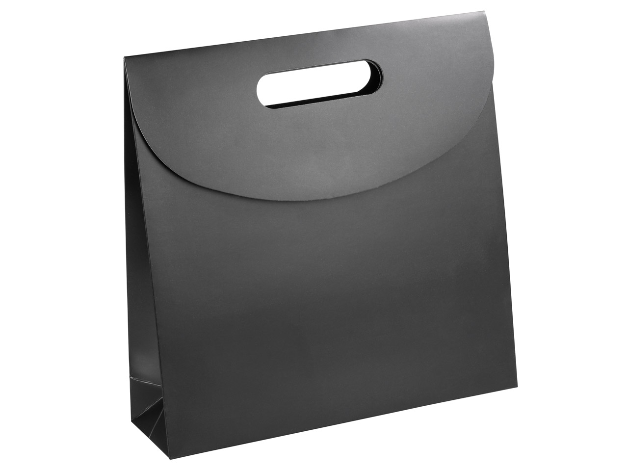 Black Matt Handle Gift Bag Large