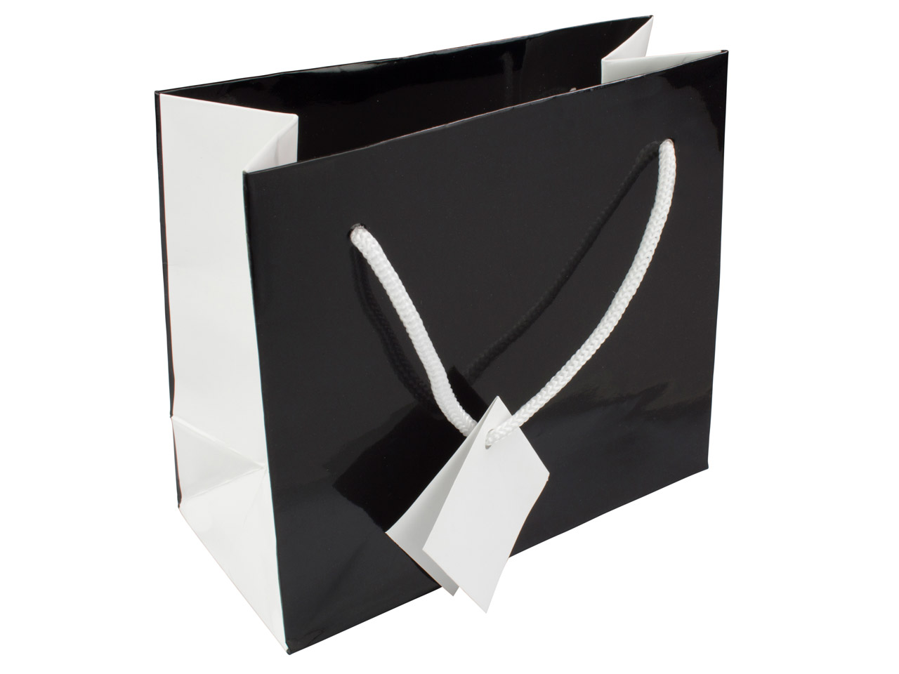 Black Monochrome Gift Bag Small