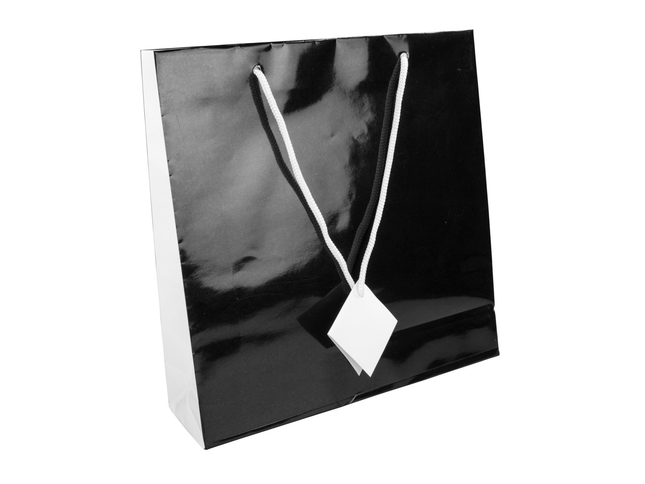 Black Monochrome Gift Bag Large