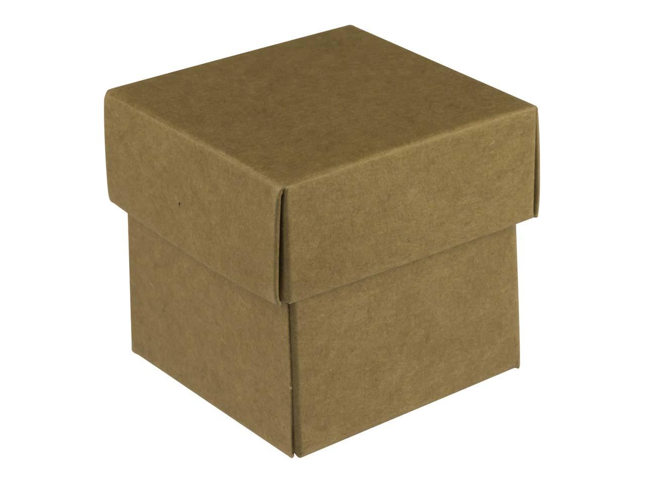 kraft flat pack square box pack of 10. Black Bedroom Furniture Sets. Home Design Ideas