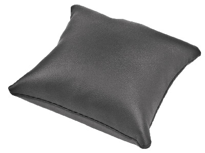 Black Leatherette Cushion Display