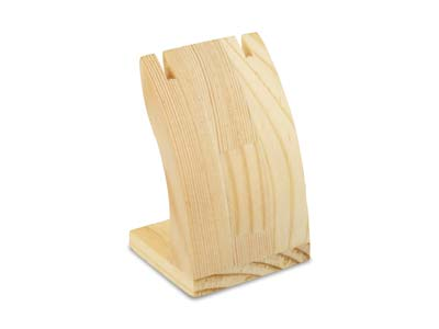 Pine Wood Small Display Stand
