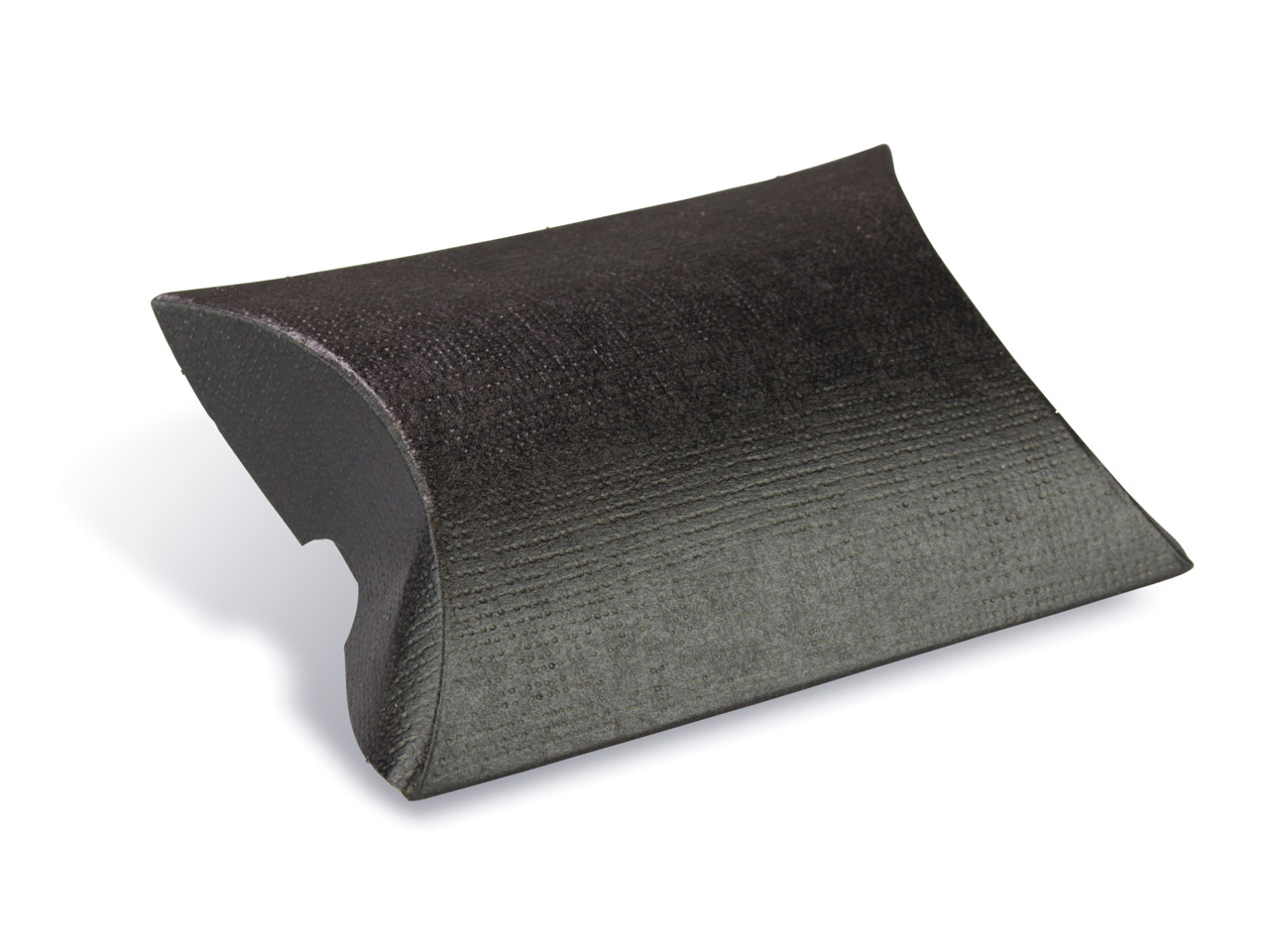 Flat Pack Pillow Box Black         Pack of 10