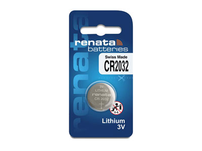 Renata Watch Battery 2032, Box Of  10