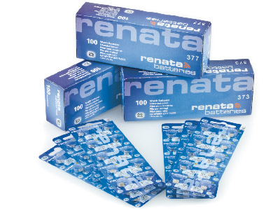 Renata-Watch-Battery-377,-Strip-Of-10