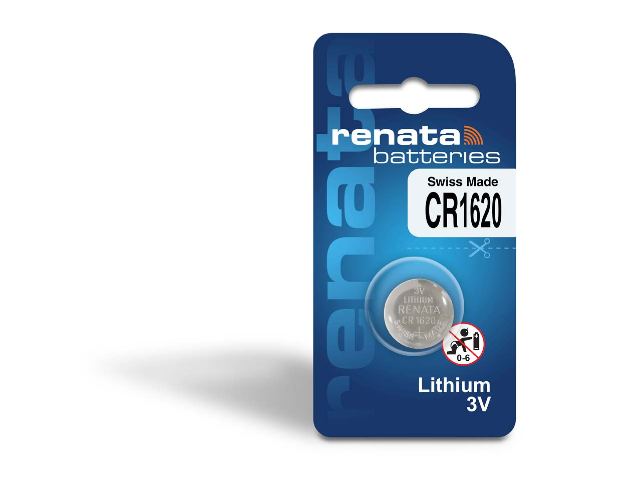 Renata Watch Battery Cr1620, Box Of 10