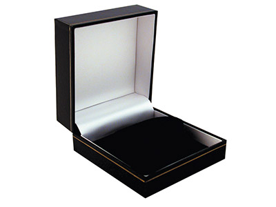 Black Leatherette Watchbangle Box