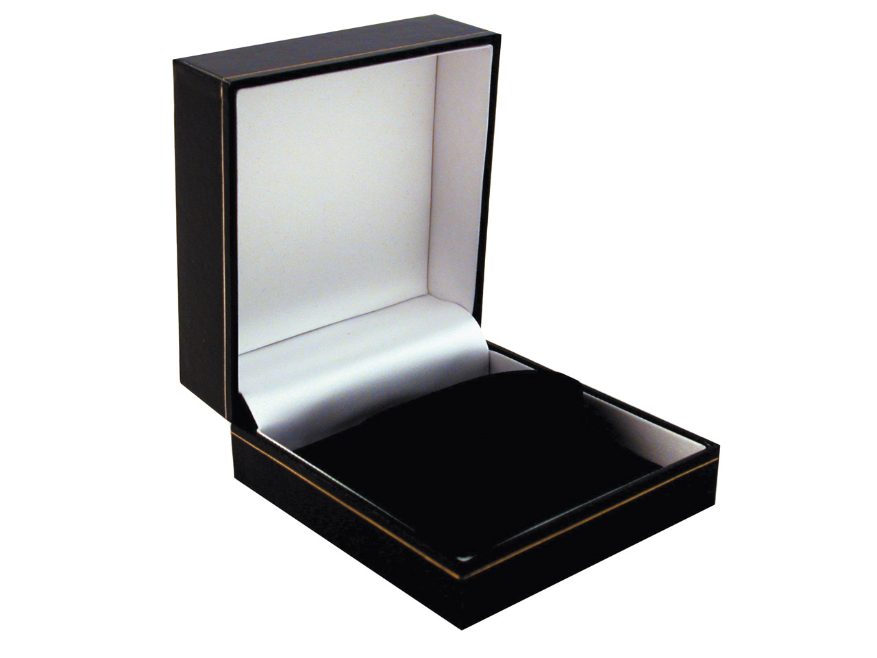 Black Leatherette Watch/bangle Box