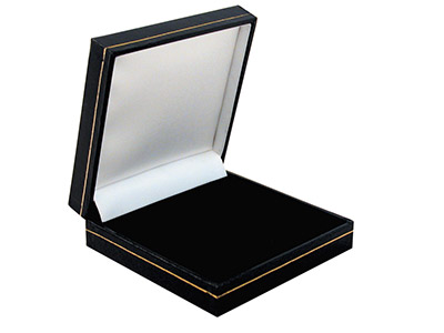 Black Leatherette Universal Large Box