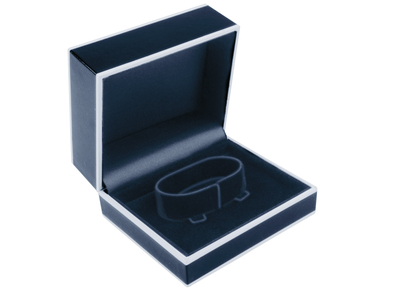 Black Monochrome Bangle Box